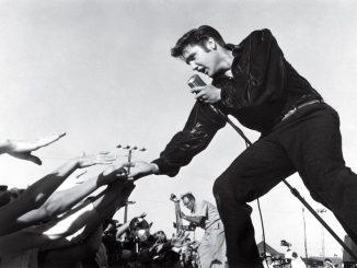 Elvis Presley in Tupelo, Mississippi  Sept 26, 1956  © 1978 Roger Marshutz—MPTV