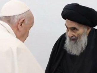 Pope Francis al-Sistani